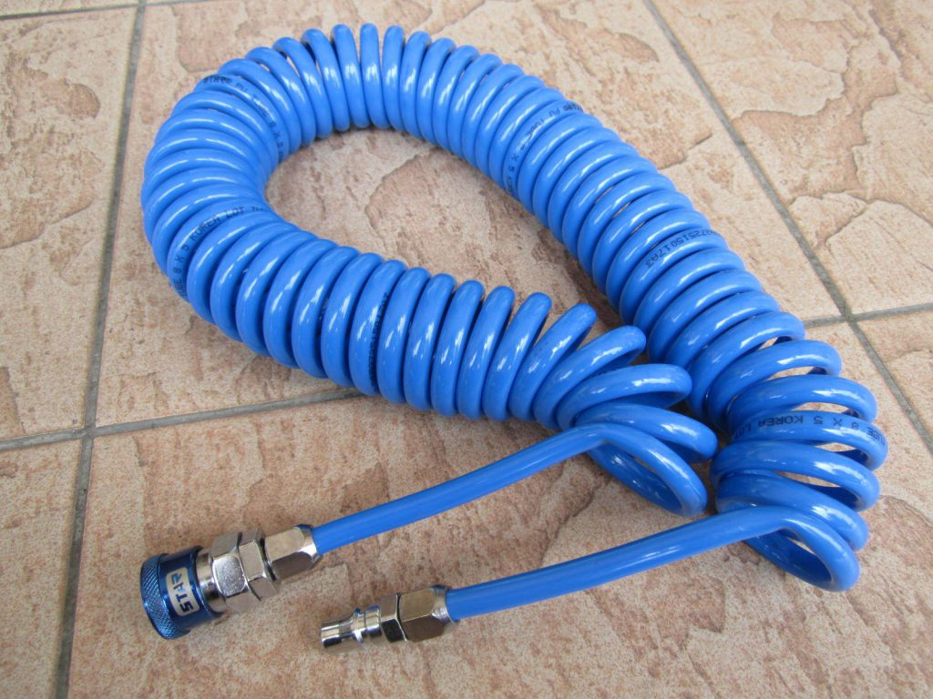 Ống nhựa pu dây xoắn máy nén khí