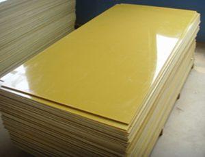 Tấm phíp thủy tinh màu vàng