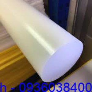 Cây nhựa tròn đặc PP, PE, UHMW-PE