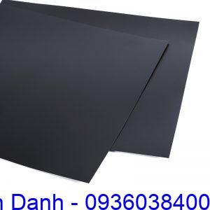 Tấm nhựa hips màu đen