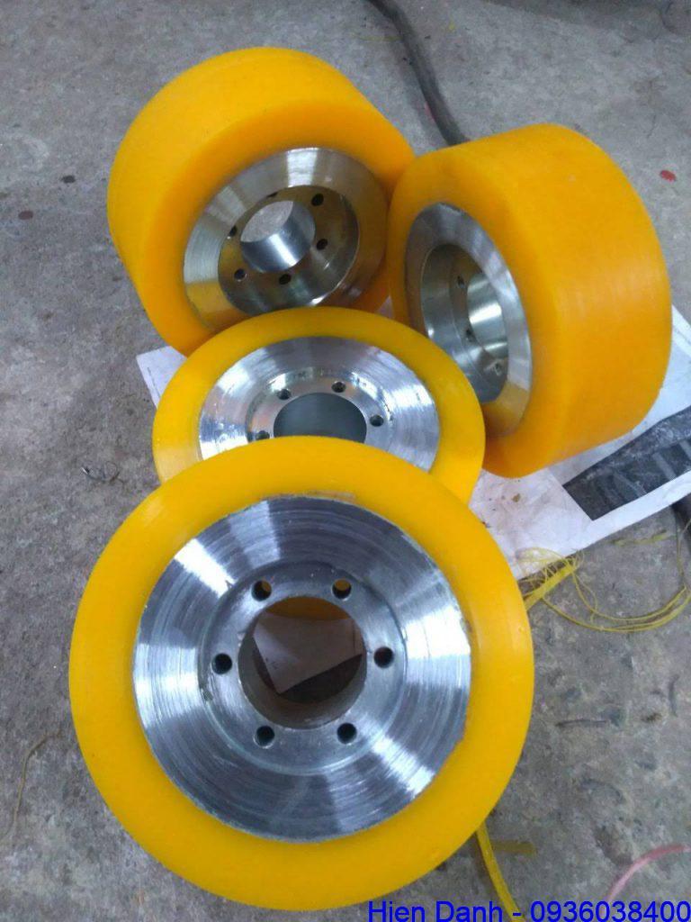 Bánh xe nhựa PU D120