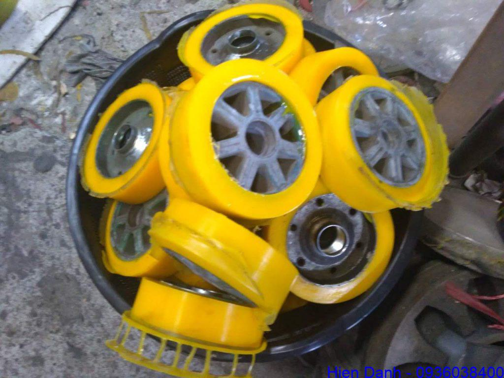 Bánh xe Nhựa PU D140