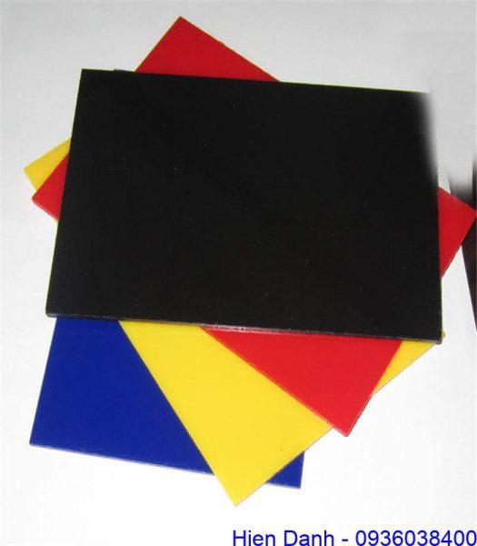 Nhựa HIPS tấm nhiều màu