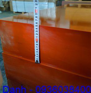 Tam nhua phip bakelite day 250 ly (250mm)